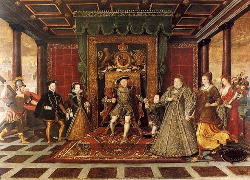 Золотой век Английского двора. Династия Тюдоров