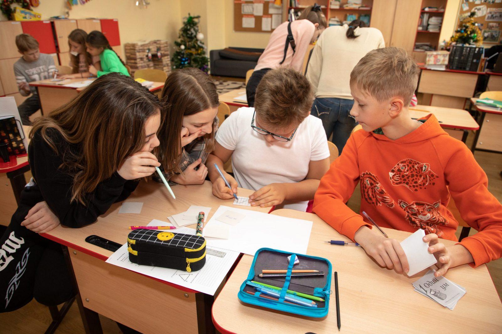 С 30 ноября по 4 декабря в школе «Лидеры» проходила неделя точных наук.