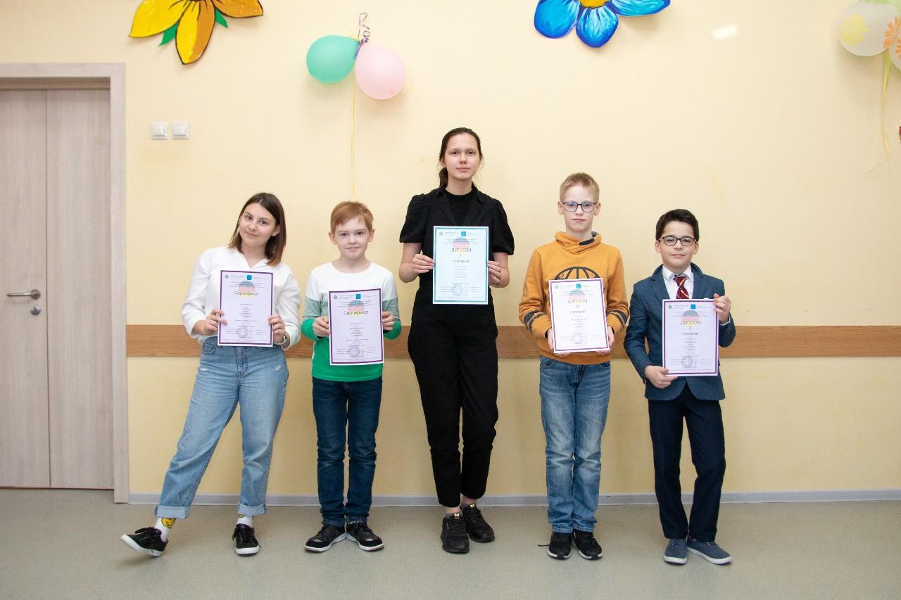 Поздравляем победителей и призеров олимпиады по немецкому языку!
